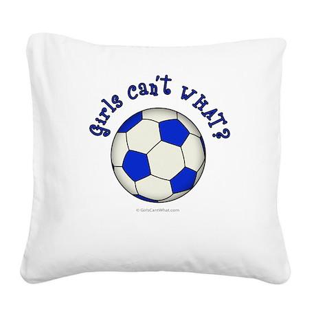 2-soccer2-blue.png Square Canvas Pillow