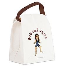wrestler-light.png Canvas Lunch Bag