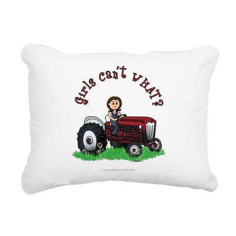farmer-red-light.png Rectangular Canvas Pillow