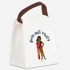 life-guard-dark.png Canvas Lunch Bag