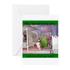 good girls Christmas Greeting Cards (Pk of 10)