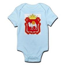 Chelyabinsk Coat of Arms Infant Creeper