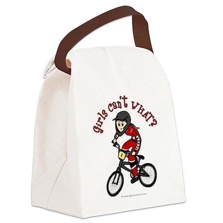 (light) Dirt Diva BMX Canvas Lunch Bag