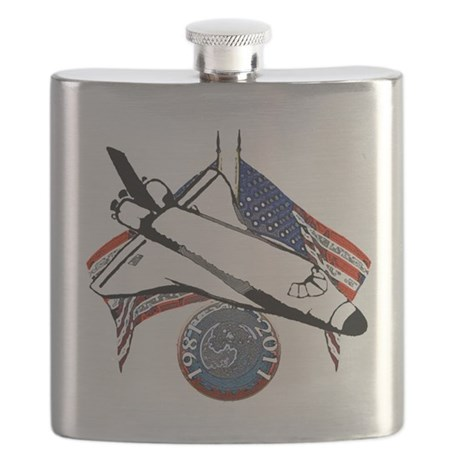 Space shuttle Flask