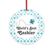 Cashier Gift Ornament (Round)