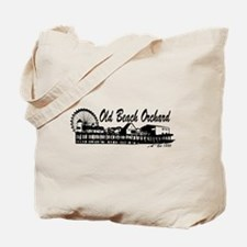 Old Orchard Beach ME - Pier Design. Tote Bag