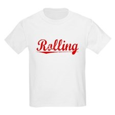 Rolling, Vintage Red T-Shirt