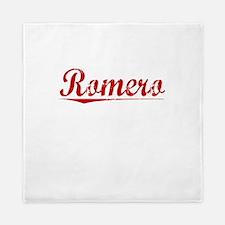 Romero, Vintage Red Queen Duvet