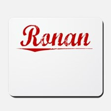 Ronan, Vintage Red Mousepad