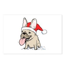 French Bulldog Christmas Postcards (Package of 8)