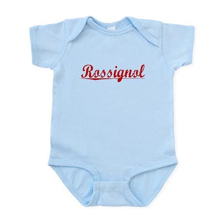 Rossignol, Vintage Red Infant Bodysuit
