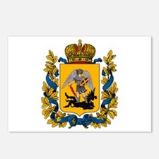 Arkhangelsk Coat of Arms Postcards (Package of 8)