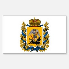 Arkhangelsk Coat of Arms Rectangle Decal
