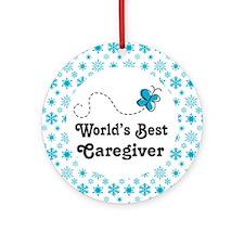 Caregiver Gift Ornament (Round)