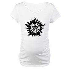 Anti-Possession Symbol Black (Splatter) Shirt