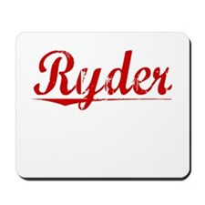 Ryder, Vintage Red Mousepad