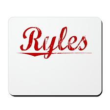 Ryles, Vintage Red Mousepad