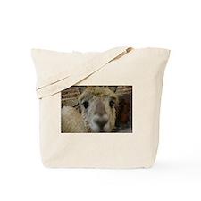 Up close and personal alpaca Tote Bag