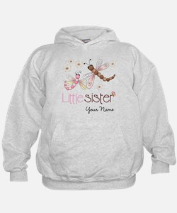 Little Sister Dragonfly Personalized Hoodie