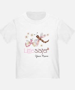 Little Sister Dragonfly Personalized T