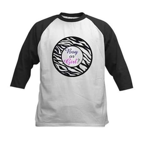 Animal Print Boy or Girl Kids Baseball Jersey