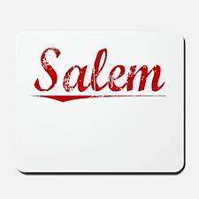 Salem, Vintage Red Mousepad