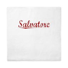 Salvatore, Vintage Red Queen Duvet