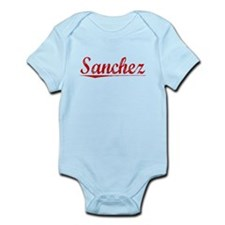 Sanchez, Vintage Red Infant Bodysuit