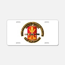 Army - DS - 11th ADA Bde Aluminum License Plate