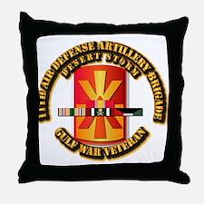 Army - DS - 11th ADA Bde Throw Pillow