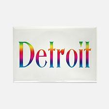 Detroit Rectangle Magnet (100 pack)