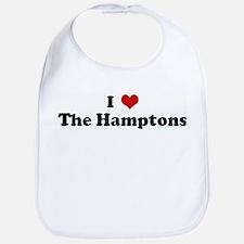 I Love The Hamptons Bib
