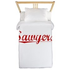 Sawyers, Vintage Red Twin Duvet