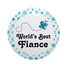 Fiance Gift Ornament (Round)