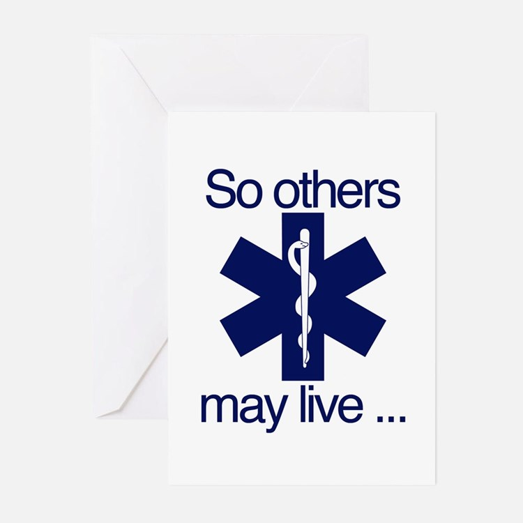 So others may live ... Greeting Cards (Pk of 10)