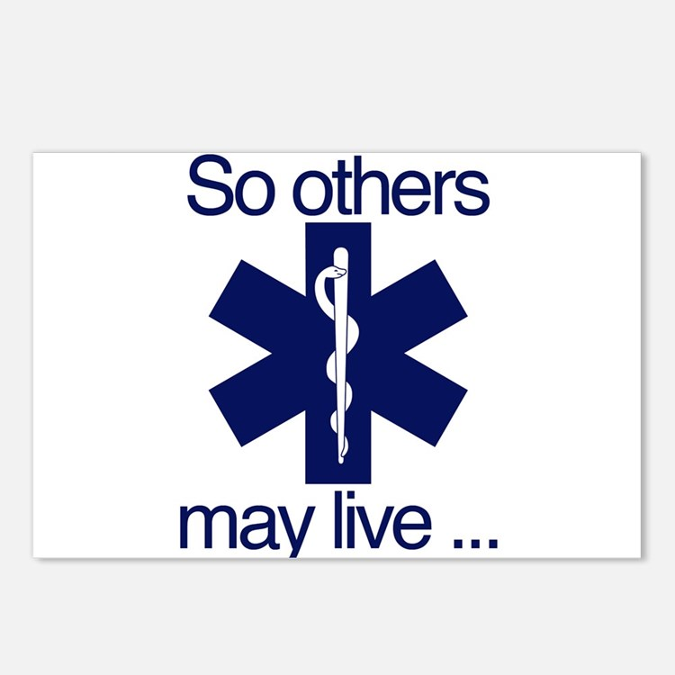 So others may live ... Postcards (Package of 8)