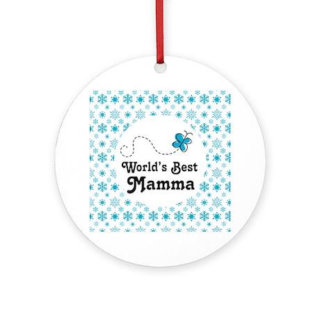 Mamma Gift Ornament (Round)