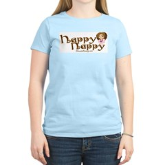 Happy Nappy Women's Pink T-Shirt