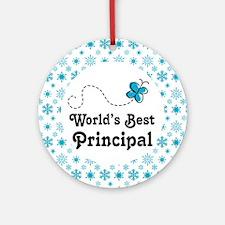 Principal Gift Ornament (Round)