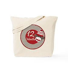 Sock Monkey 12 Months Milestone Tote Bag