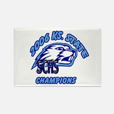 2006 KS State Champs Rectangle Magnet (100 pack)