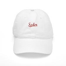 Seder, Vintage Red Baseball Cap