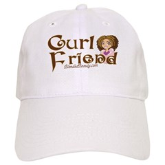 Curl Friend Baseball Cap