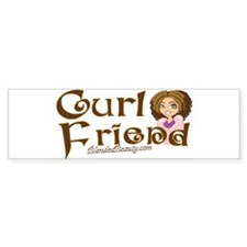 Curl Friend Bumper Bumper Sticker