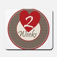 Sock Monkey 2 Weeks Milestone Mousepad
