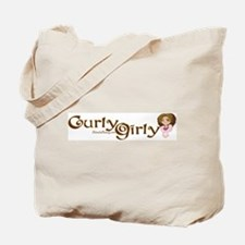 Curly Girly Tote Bag