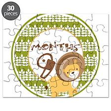 Safari 9 Months Milestone Puzzle