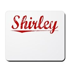 Shirley, Vintage Red Mousepad