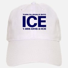 TURN ILLEGALS INTO ICE - Baseball Baseball Cap