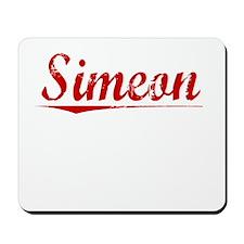 Simeon, Vintage Red Mousepad